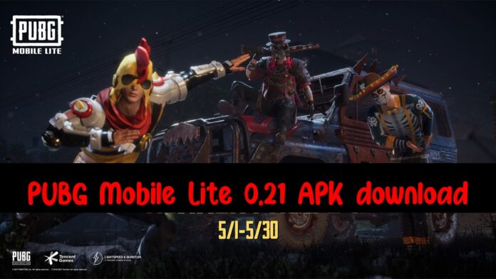 PUBG Mobile Lite 0.21 APK download